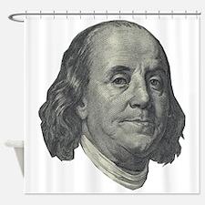 Franklin $100 Design Shower Curtain