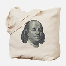 Franklin $100 Design Tote Bag
