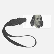 Franklin $100 Design Luggage Tag
