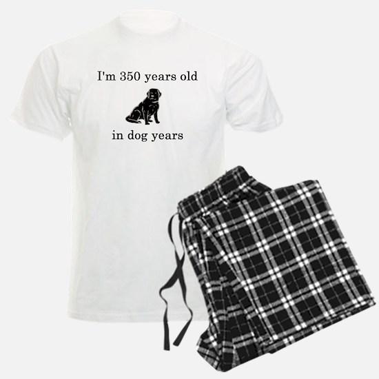 50 birthday dog years lab Pajamas