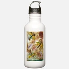 Dragonfly Lollipop Sports Water Bottle