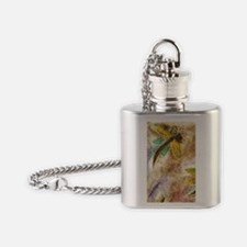 Dragonfly Lollipop Flask Necklace