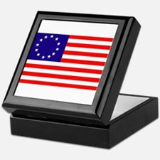 Betsy Ross Flag Keepsake Box