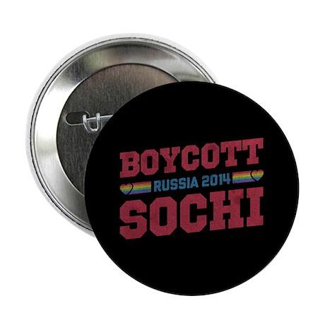 "Boycott Sochi 2.25"" Button (10 pack)"