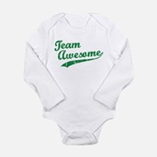 Team Awesome Infant Creeper Body Suit