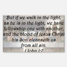 1 John 1:7 Decal