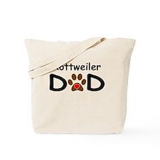 Rottweiler Dad Tote Bag