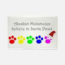 Alaskan Malamutes Believe Rectangle Magnet
