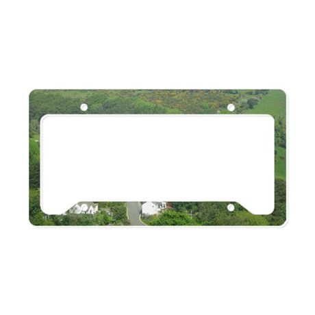 Laxey Wheel License Plate Holder