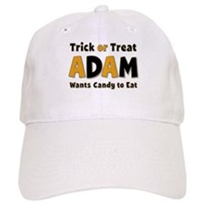 Adam Trick or Treat Baseball Baseball Cap