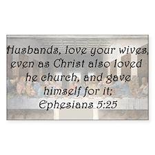 Ephesians 5:25 Decal