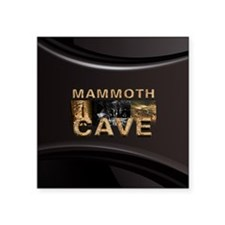 "ABH Mammoth Cave Square Sticker 3"" x 3"""