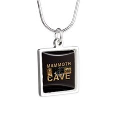 ABH Mammoth Cave Silver Square Necklace