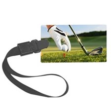 Placing the ball. Luggage Tag