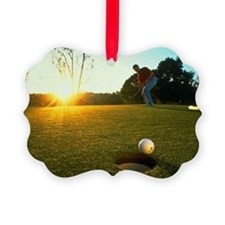 Hole in One Ornament