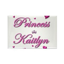 Unique Kaitlyn name Rectangle Magnet