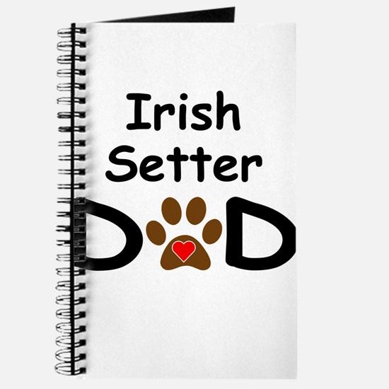 Irish Setter Dad Journal