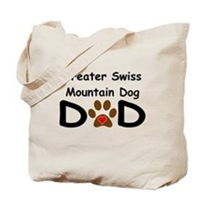 Greater Swiss Mountain Dog Dad Tote Bag