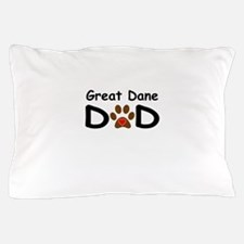 Great Dane Dad Pillow Case