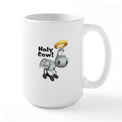 Holy Cow Angelic Cow Mug