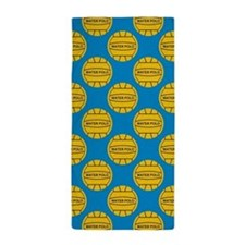 Water Polo Balls Beach Towel