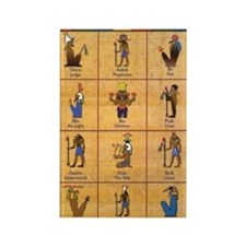 ancient egyptian gods Rectangle Magnet