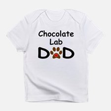 Chocolate Lab Dad Infant T-Shirt