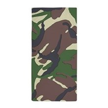 Camouflage Beach Towel