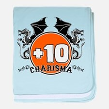 +10 to Charisma baby blanket
