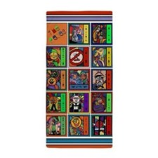 Time Pieces Colorful Beach Towel