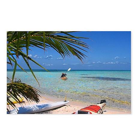 Kayaks Postcards (Package of 8)