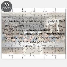 Colossians 1:16 Puzzle