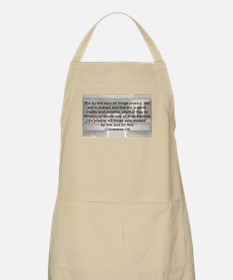 Colossians 1:16 Apron
