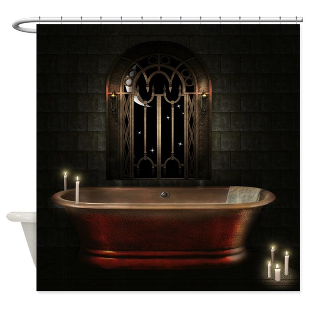 Gothic Bathtub Shower Curtain By ShowerCurtainShop