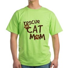 Rescue Cat Mom T-Shirt