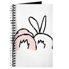 Funny Bunny rabbit Journal