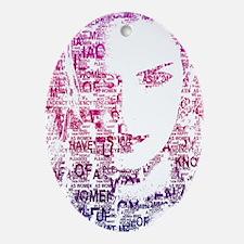 Katherine Heigl - Women Pride Oval Ornament