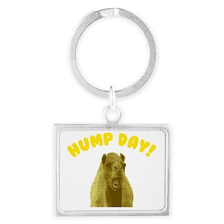 Hump Day Camel Landscape Keychain