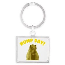 Hump Day Camel Landscape Keychain