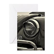 VW Bug Eye Greeting Card