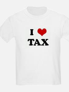 I Love TAX Kids T-Shirt