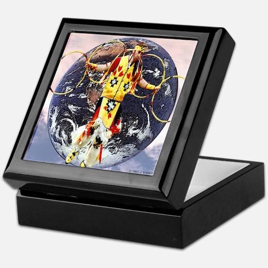 Mother Earth Keepsake Box