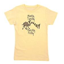 Hump Day Camel Weekdays Girl's Tee