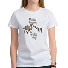 Hump Day Camel Weekdays Tee