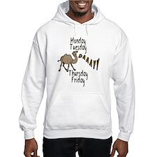 Hump Day Camel Weekdays Hoodie