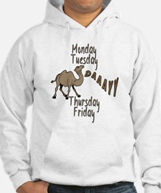 Hump Day Camel Weekdays Hoodie