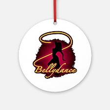 Bellydance Round Ornament