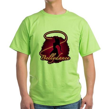 Bellydance Green T-Shirt