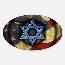 Jewish American Decal