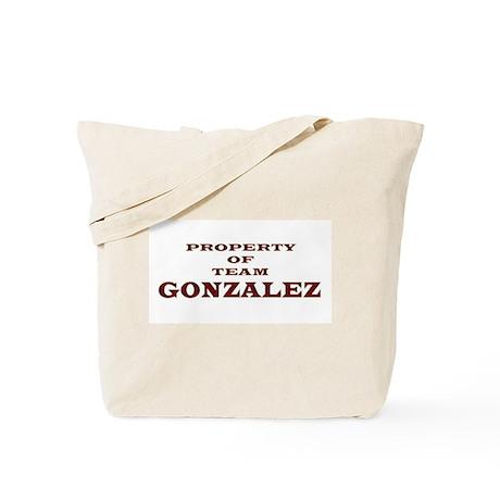 Property of Team Gonzalez Tote Bag